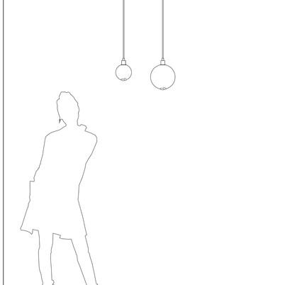 Drape Pendant