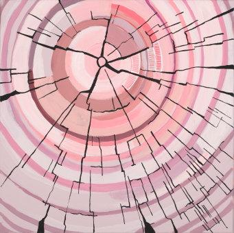 Pink Rings - Print