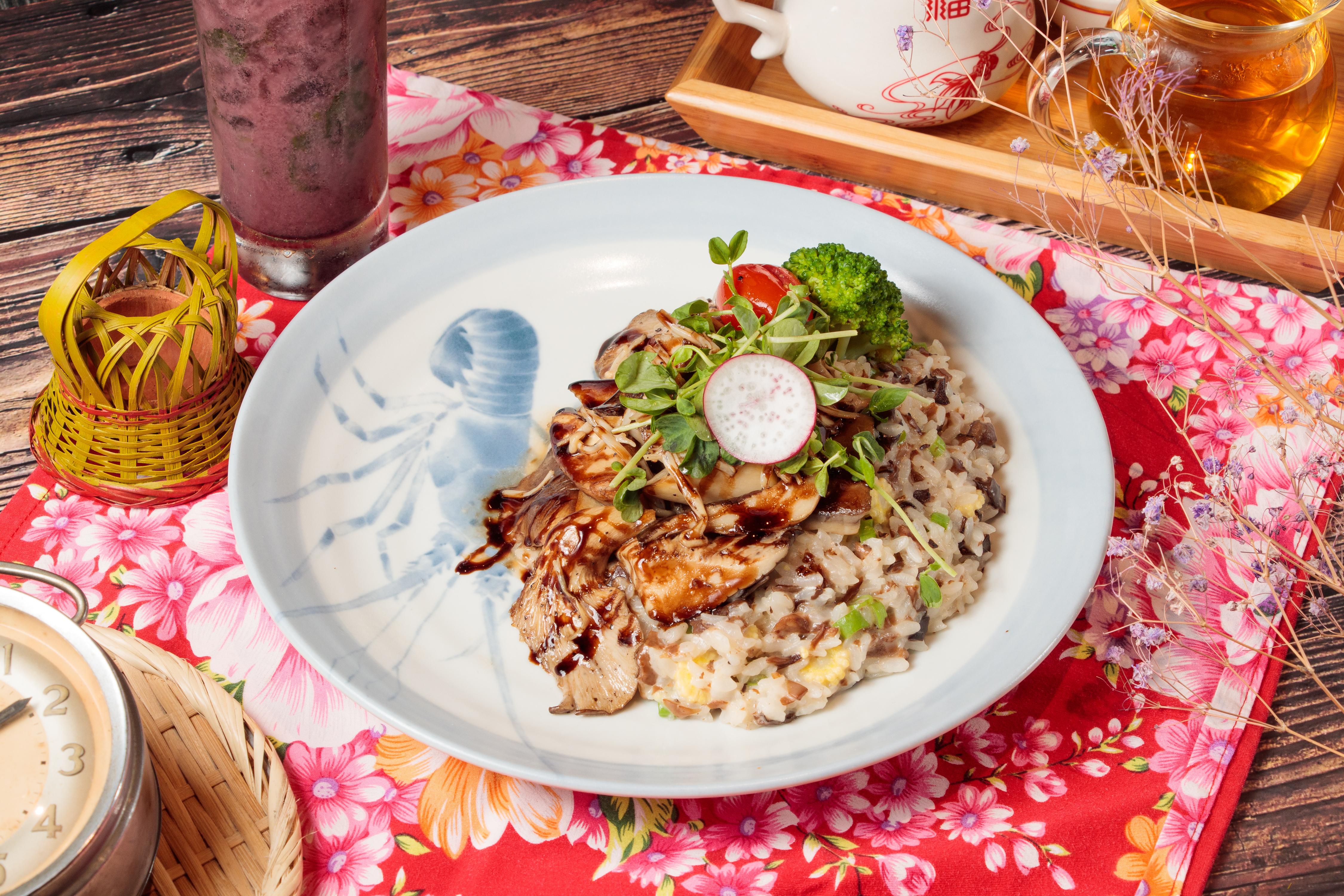乳香野菇鴨胸燉飯