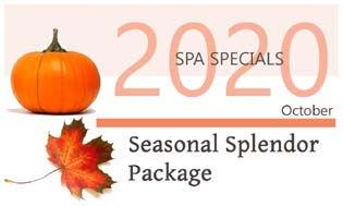 October Spa Specials