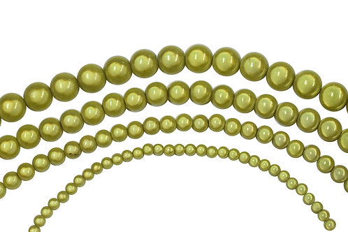 Yellow Miracle Bead Strands