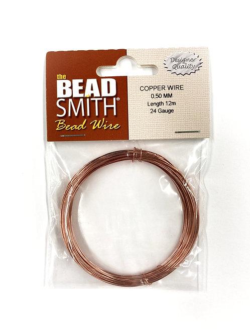 Round Copper German Bead Wire