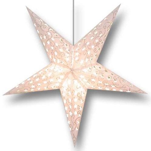Glitter Star White
