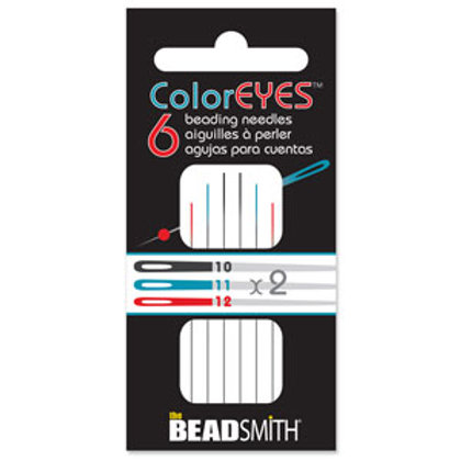Colored Eye Beading Needle Assortment