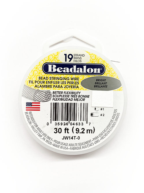 19 Strand Bead Stringing Wire 30 Feet