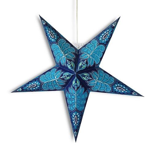 Blue Monarch Glitter