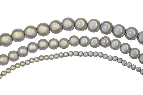 Silver Miracle Bead Strands