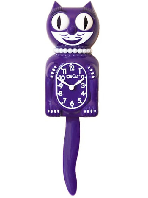 Ultra Violet Lady Kit-Cat Clock