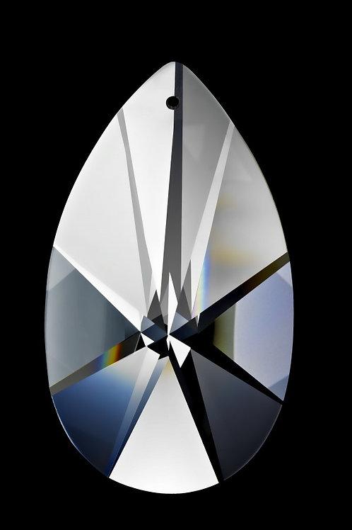 "28mm Crystal Pearshape 1.25"""