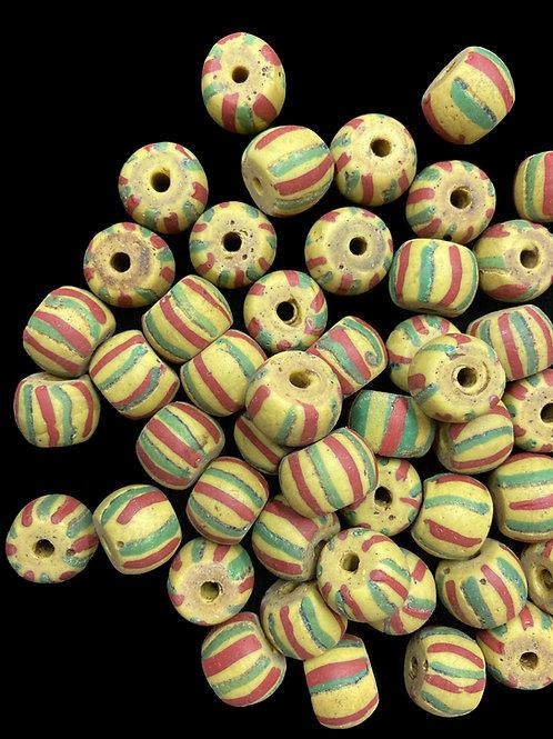 Venetian Bumble Bead (rare color, late 1800's)