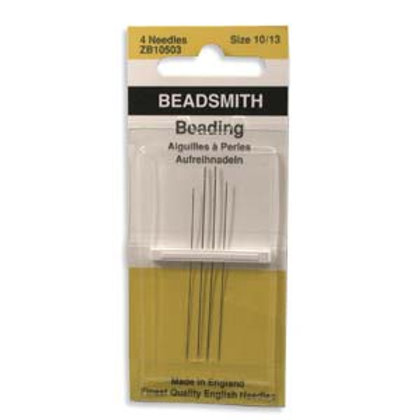 Size 10, 12, and 13 English Needles - Variety 4 Pack