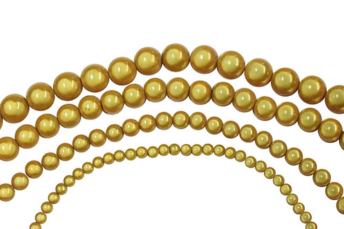 Gold Miracle Bead Strands
