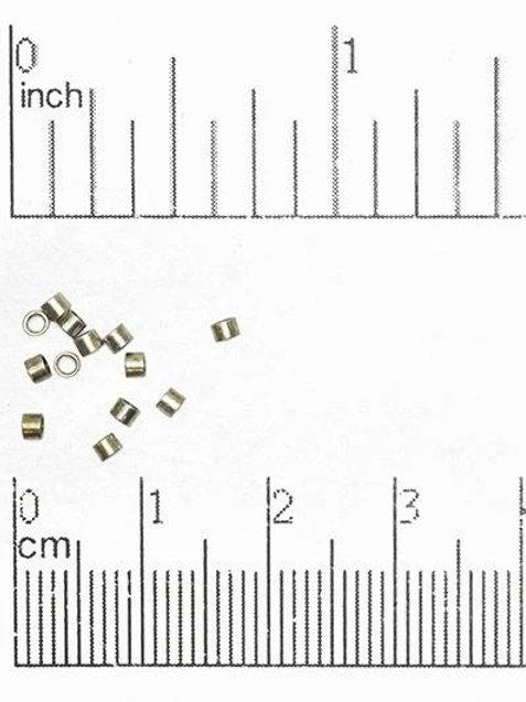 2x2mm Seamless Crimp Tubes (50 pack)