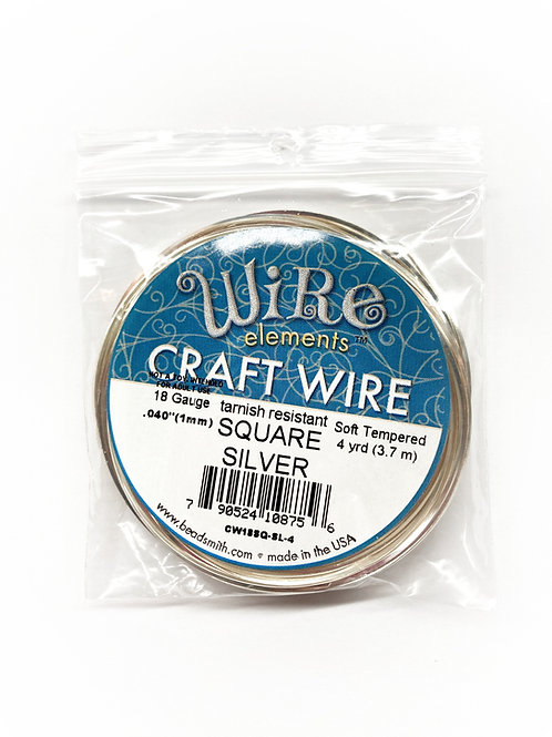 Square Craft Wire 4 Yards