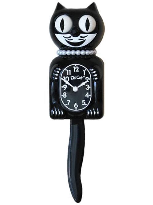 Classic Black Lady Kit-Cat Clock