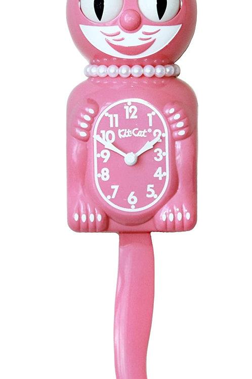 Strawberry Ice Lady Kit-Cat Clock