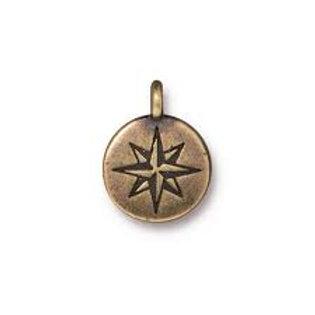 Mini North Star Charm