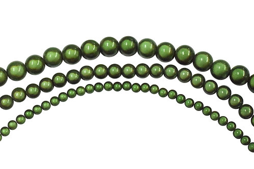 Green Miracle Bead Strands