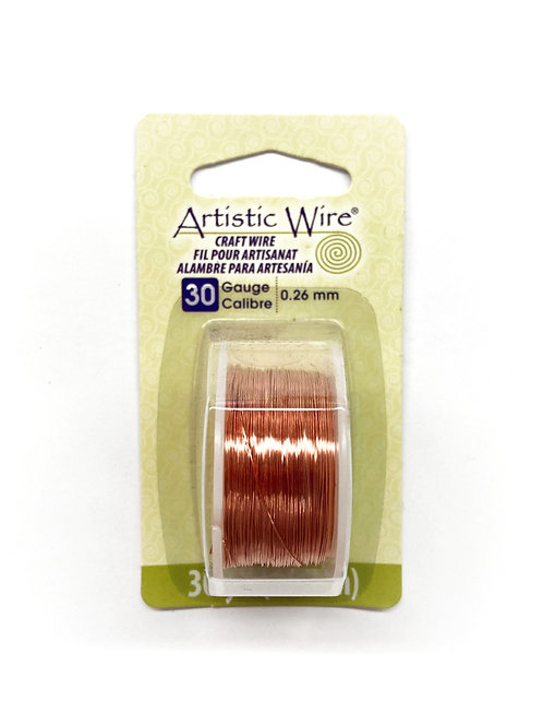 Round 30 Gauge Wire (30 yard spool)