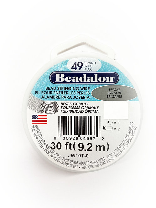 49 Strand Bead Stringing Wire 30 Feet