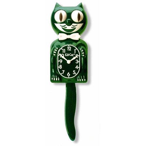 Hunter Green Kit-Cat Clock
