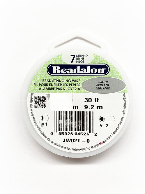 7 Strand Bead Stringing Wire 30 Feet