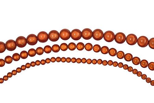Orange Miracle Bead Strands