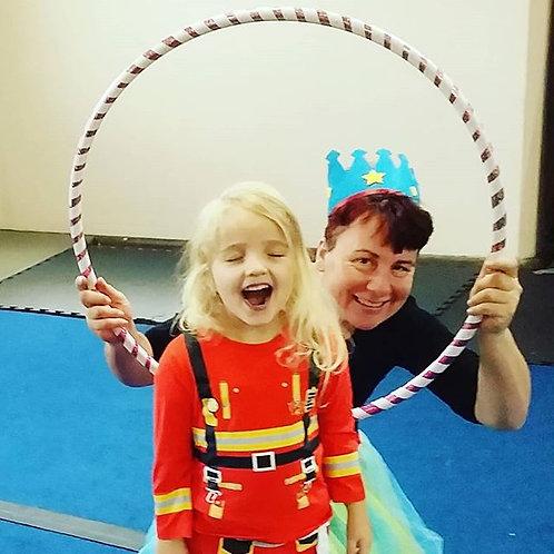 Kids Online DIY Circus session