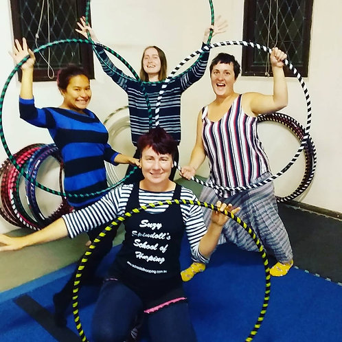 Term 4 Adult's Hoopyogini Single Classes