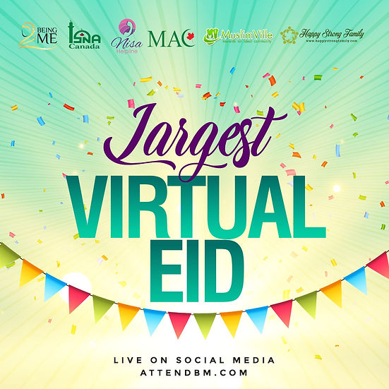 LARGEST VIRTUAL EID UL FITR 1441 AH / 2020 AD