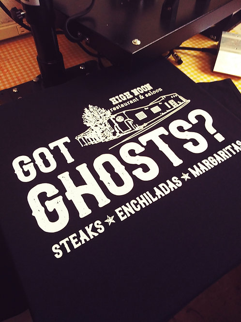 High Noon Got Ghosts? T-Shirt