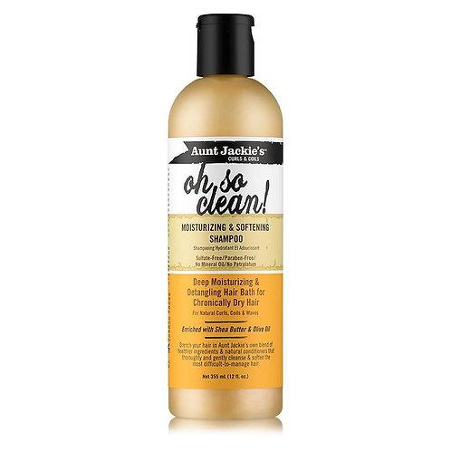 Aunt Jackie's Curls & Coils Oh So Clean! Nemlendirici Şampuan 355 ml