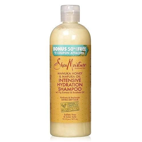 SheaMoisture Manuka Bal & Mafura Yağı Yoğun Nemlendirici Nazik Şampuan 577 ml