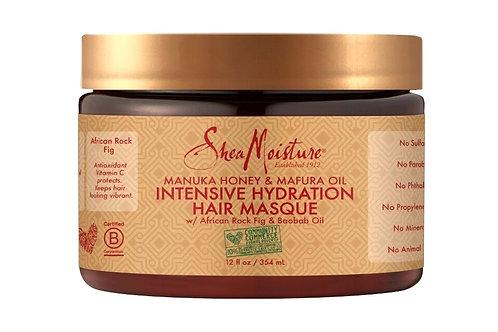 SheaMoisture Manuka Balı & Mafura Yağı Yoğun Nemlendirici Saç Maskesi 354 ml