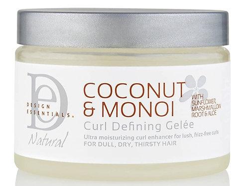Design Essentials Coconut & Monoi Bukle Tanımlayıcı Saç Jölesi 340 g