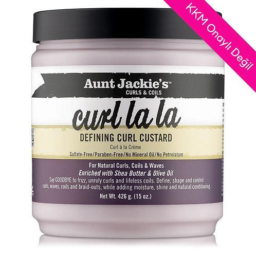 Aunt Jackie's Curls & Coils Curl La La Bukle Tanımlayıcı Krem 426 g