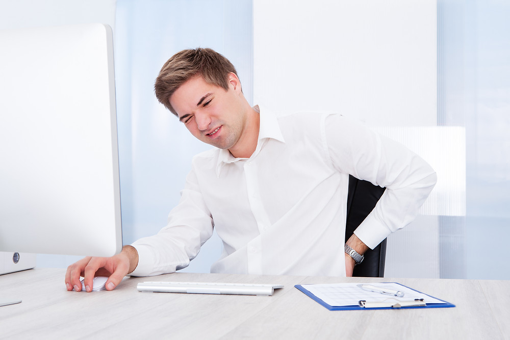 Desk Posture: Prevent lower back pain