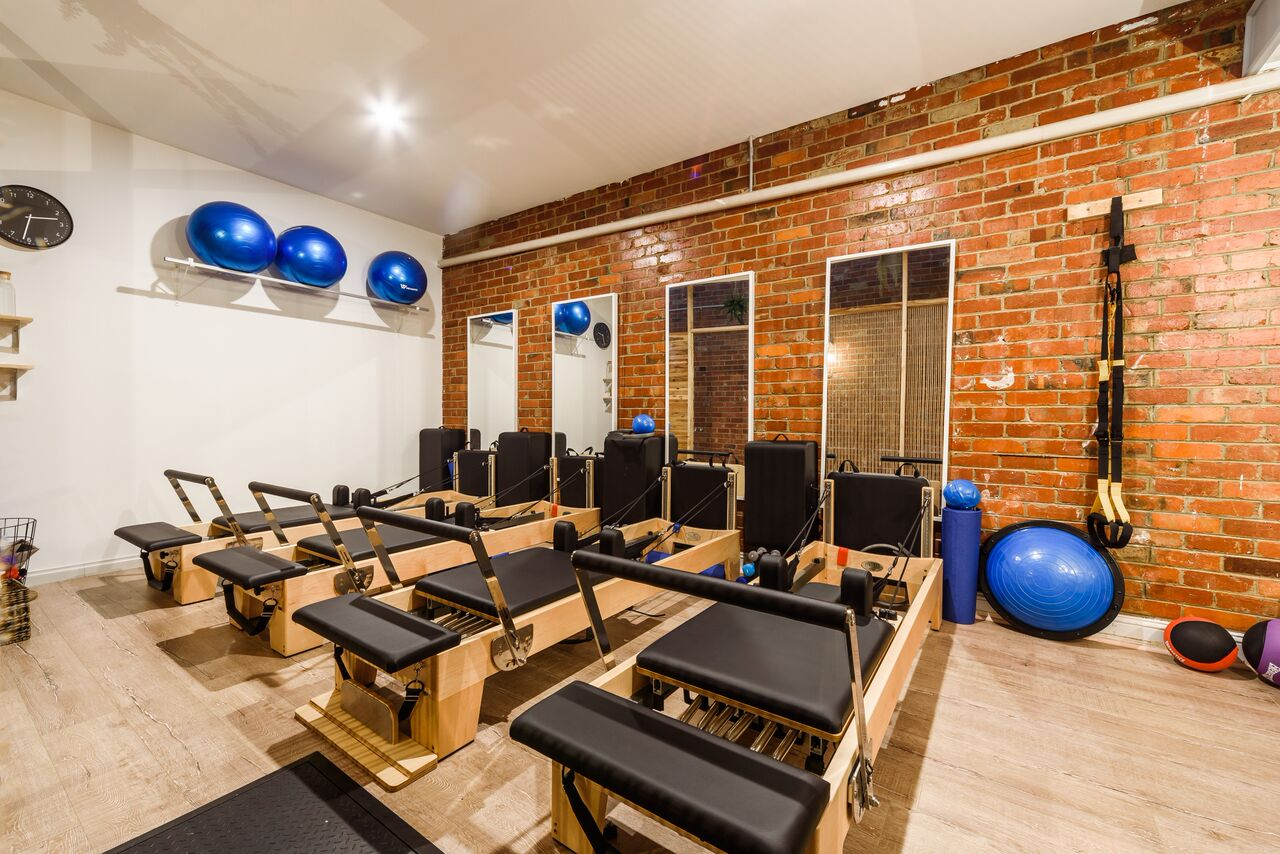 Our studio is equipped with Clinical Pilates equipment.
