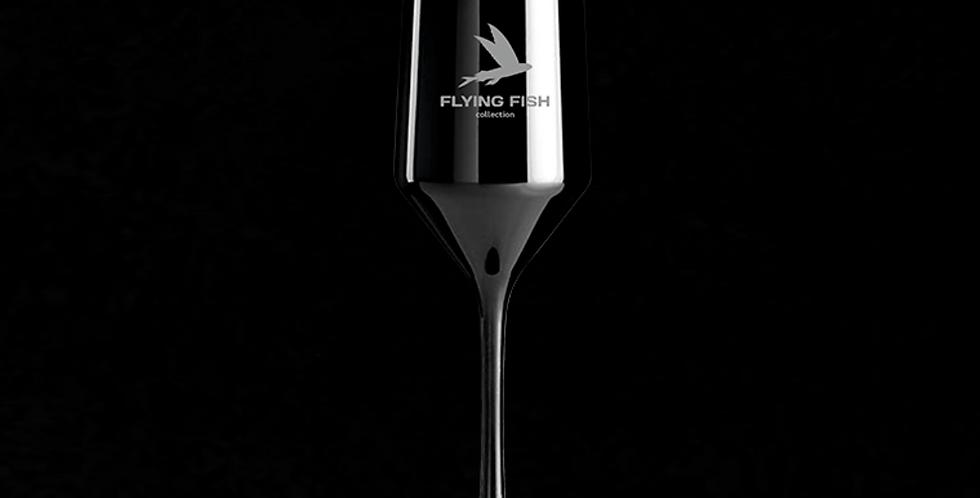 Бокал для шампанского FLYING FISH  black