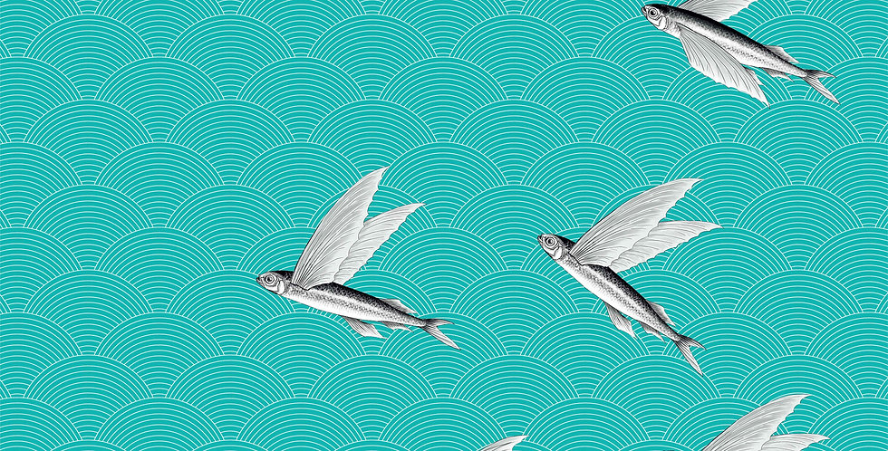 FLYING FISH collection INTERIOR  TEXTILES