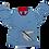 Thumbnail: ТЕЛЬНЯШКА FLYING FISH (детская)