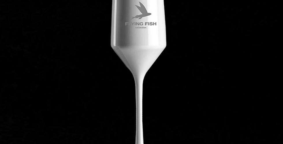 Бокал для шампанского FLYING FISH white