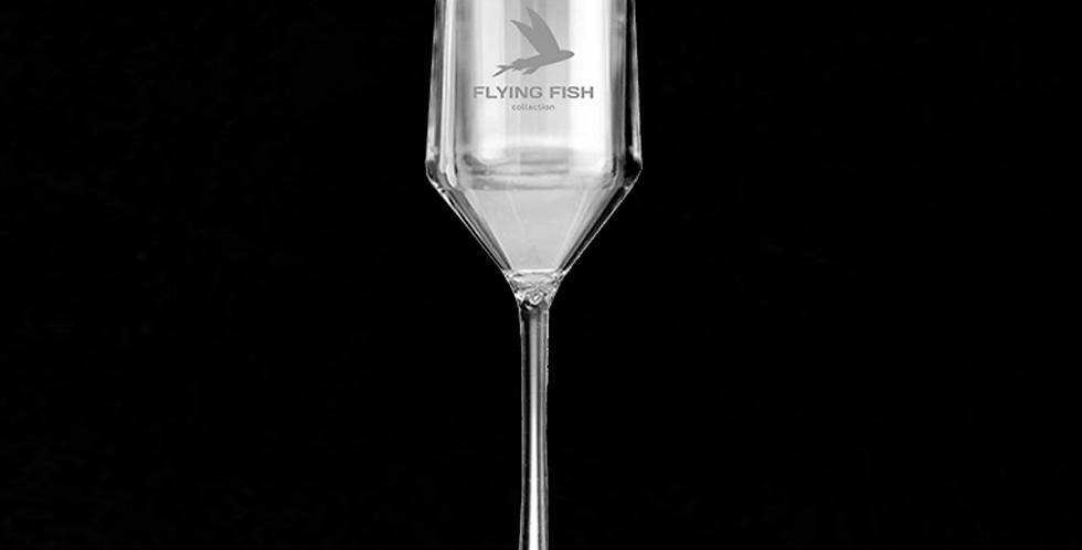 Бокал для шампанского FLYING FISH crystal