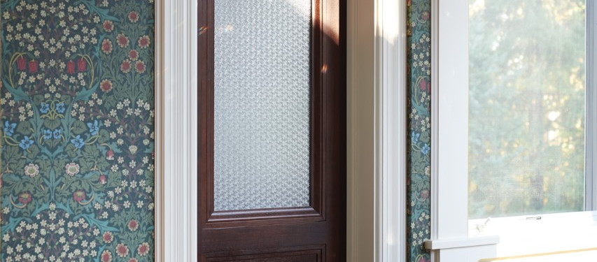 Front door by home remodelers in Kinnelon, New Jersey