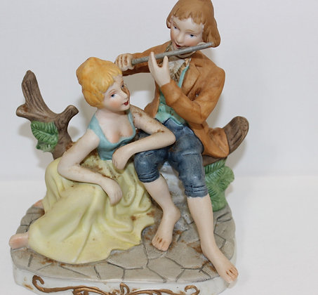 Ceramic Couple Figure