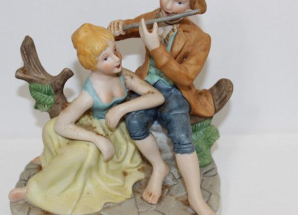 Ceramic Couple Figure