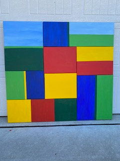 3D Rectangles Painting