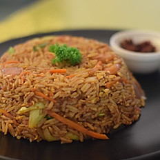 Mongolian Rice with Chicken