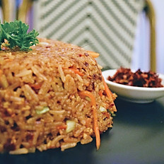 Mongolian Rice with Prawns