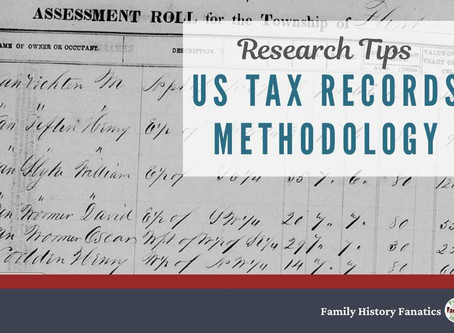 Using Tax Records to Find Your Ancestors - Genealogy Methodology Tutorial